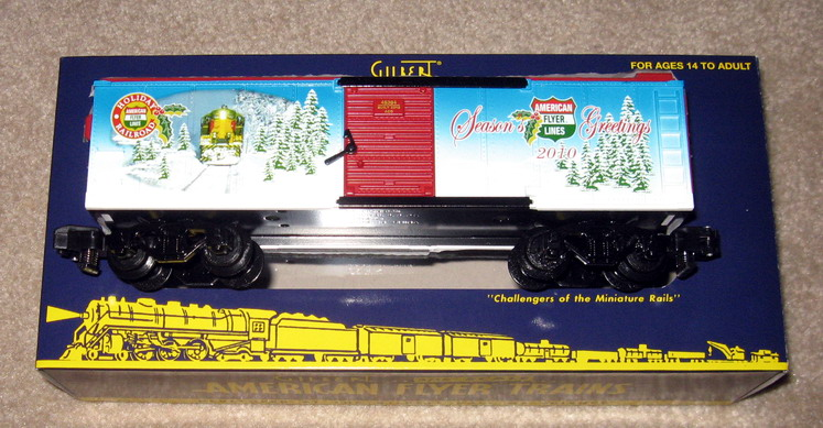American Flyer 6-48016 Christmas Set. Mint Condition.