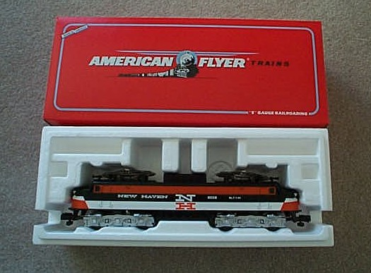 1991 American Flyer New Haven Electric Locomotive (6-48008). Mint Condition.