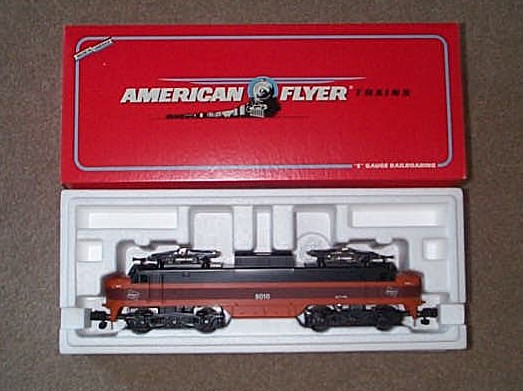 1992 American Flyer Milwaukee Road Electric Loco (6-48010). Mint Condition.