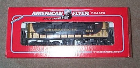 1995 American Flyer Northern Pacific GP-9 Diesel (6-48014). Mint Condition.