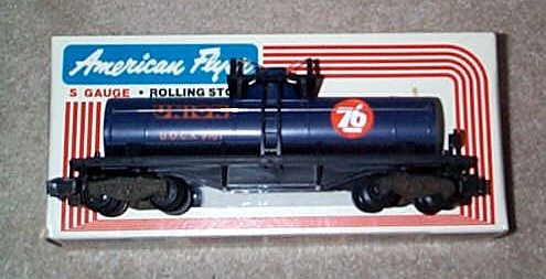 1980 American Flyer Union Oil Tank Car (4-9101). Mint Condition.