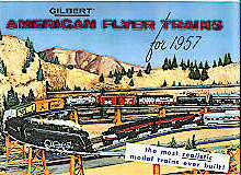 1957 Gilbert American Flyer Consumer Catalog (D2006). Near Mint Condition.