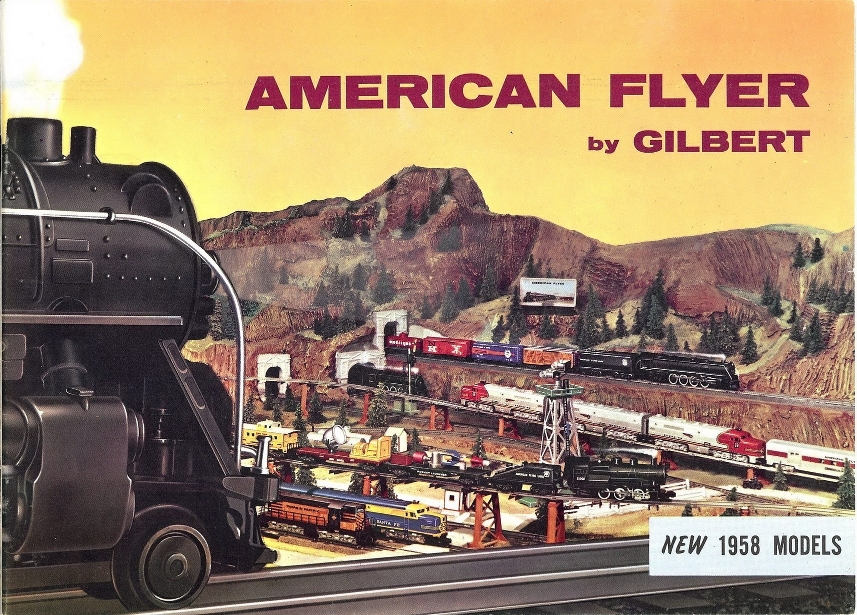 1958 Gilbert American Fly Consumer Catalog (D2047) Near Mint Condition