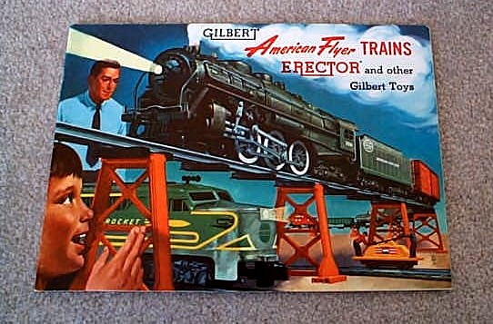 1954 Gilbert American Flyer Consumer Catalog (D1760) Mint Condition