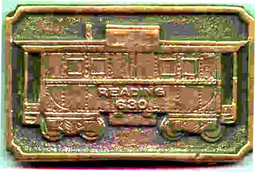 Brass American Flyer Caboose Belt Buckle. Mint Condition.
