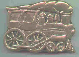 Brass Locomotive Belt Buckle. Mint Condition.