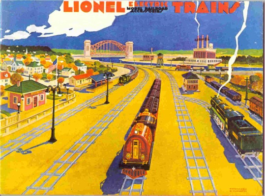 1930 Lionel Consumer Catalog. Reprint Near Mint Condition.