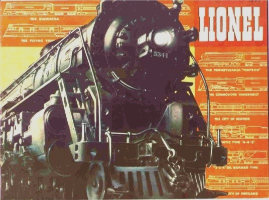 1937 Lionel Consumer Catalog Reprint. Near Mint Condition.