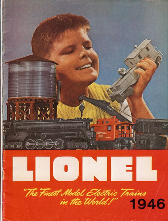 1946 Lionel Consumer Catalog (Greenberg Reprint.) Very Good Condition