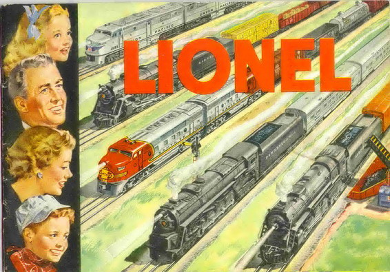1951 Lionel Consumer Catalog Excellent Minus Condition