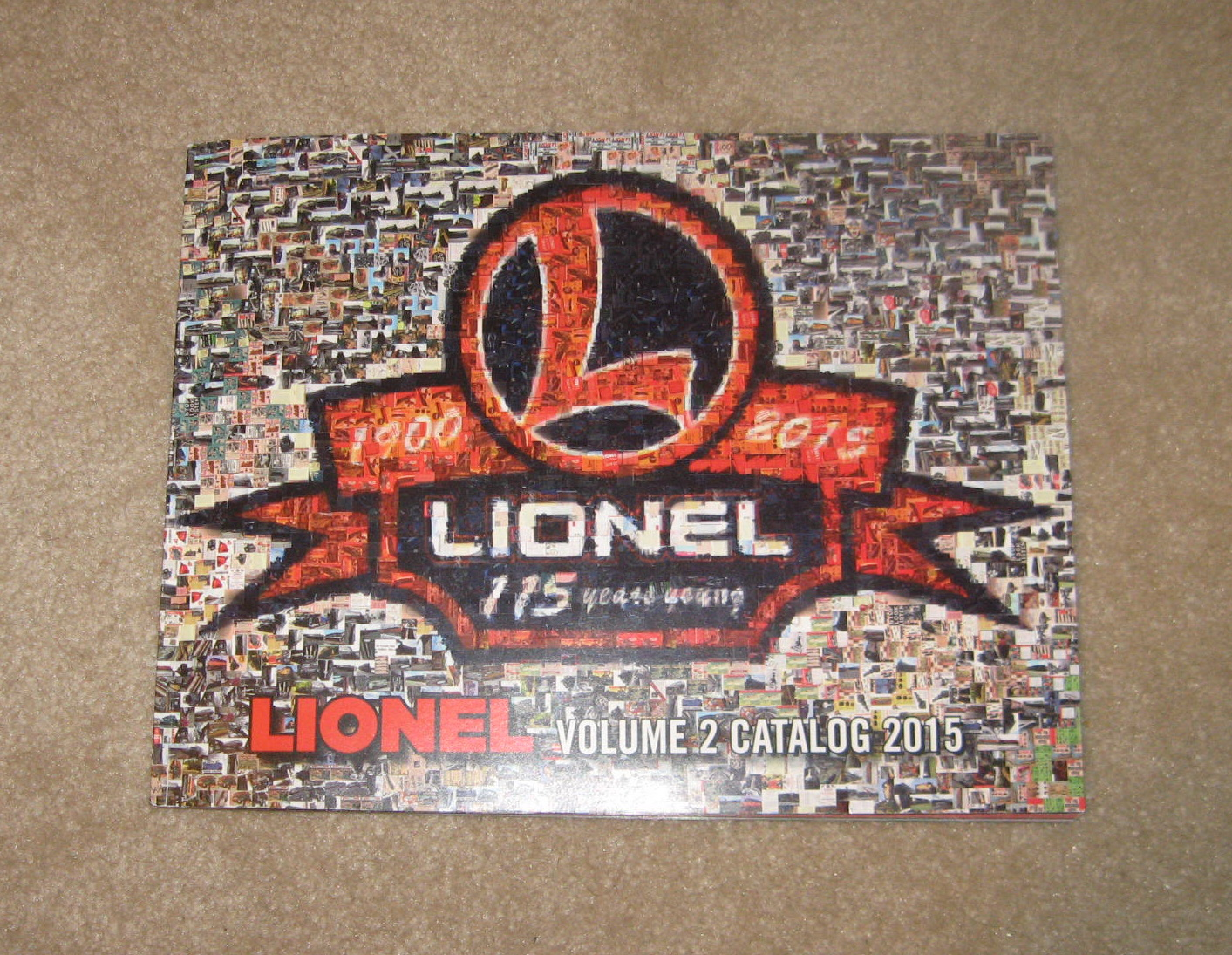 2015 Lionel Trains Volume 2 Catalog. Mint Condition.