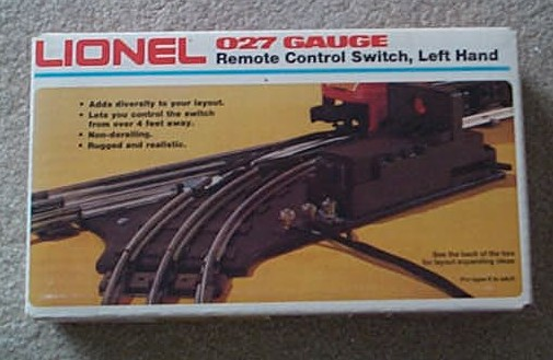 027 Remote Control Left Hand Switch (6-5121)