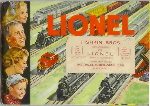 1951 Lionel Consumer Catalog Very Good Condition