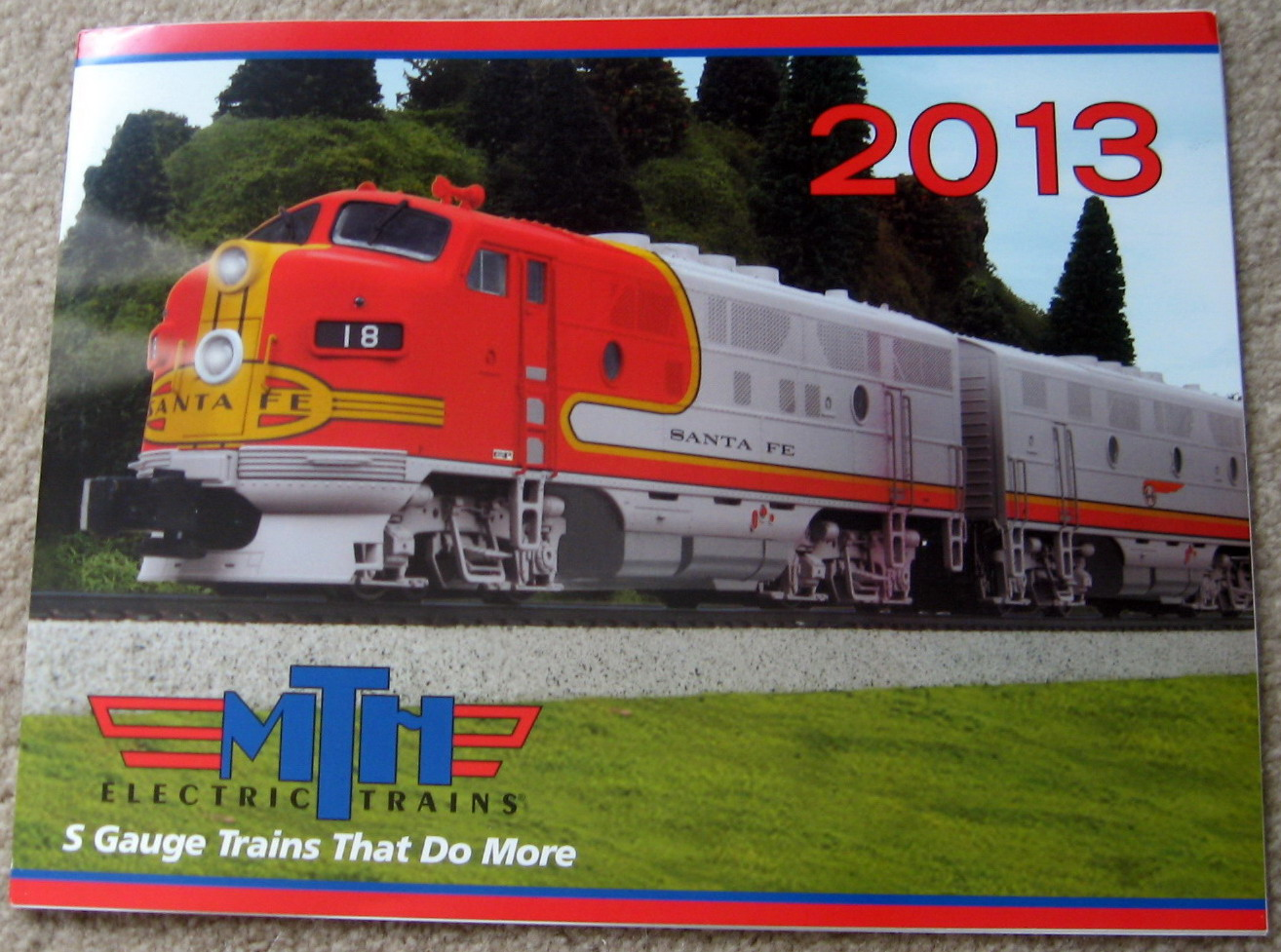 2013 MTH S Gauge Catalog. Mint Condition