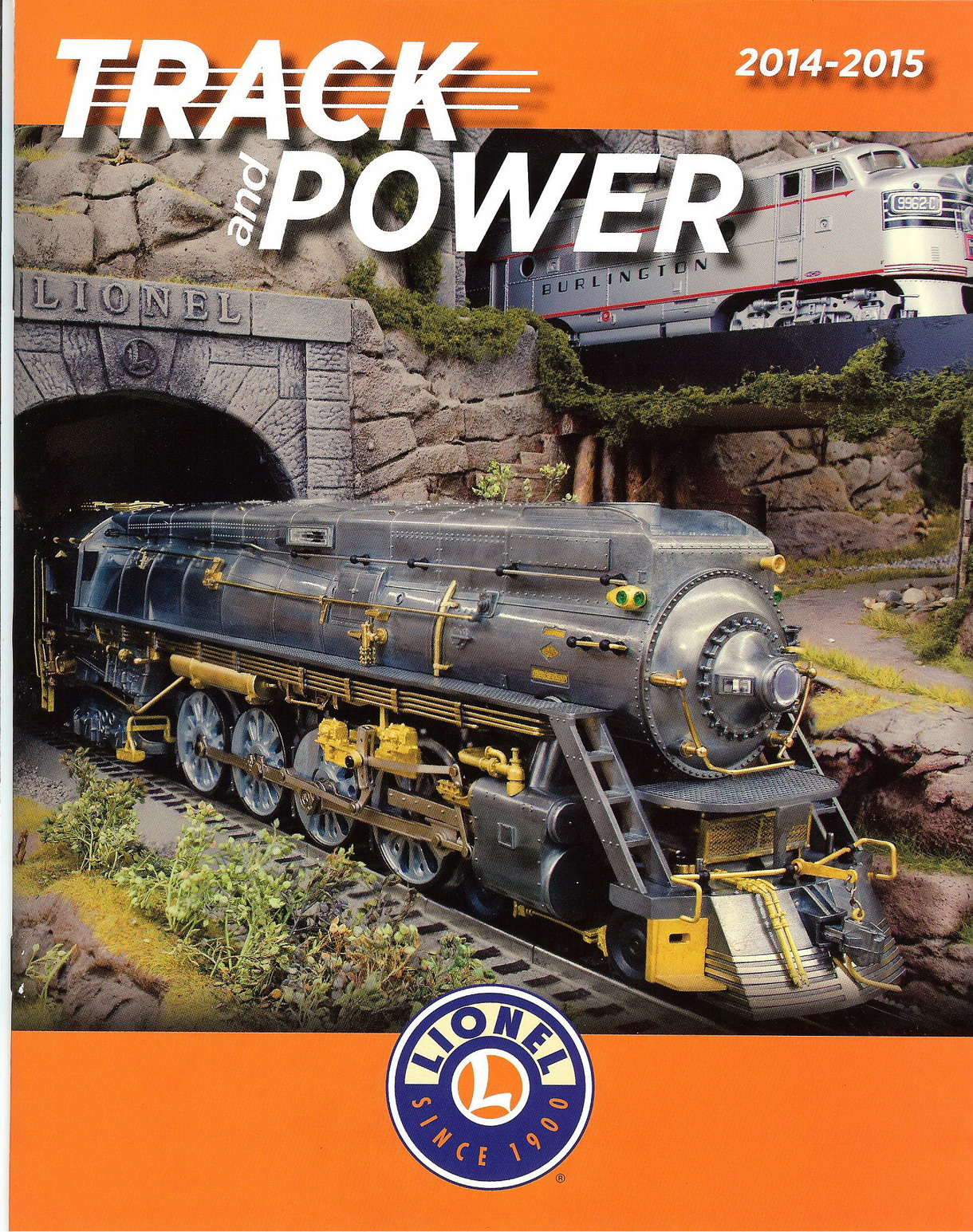 2014 Lionel Track & Power Catalog. Mint Condition.
