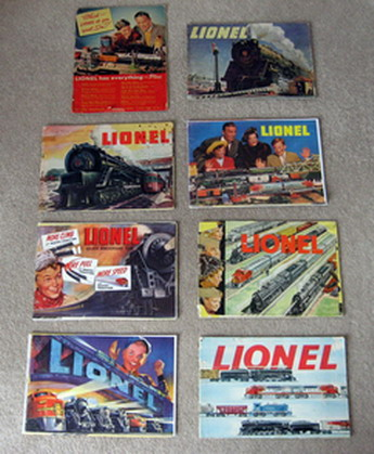 1946-1953 Lionel Consumer Catalogs (Seconds) Good to Very Good Condition.