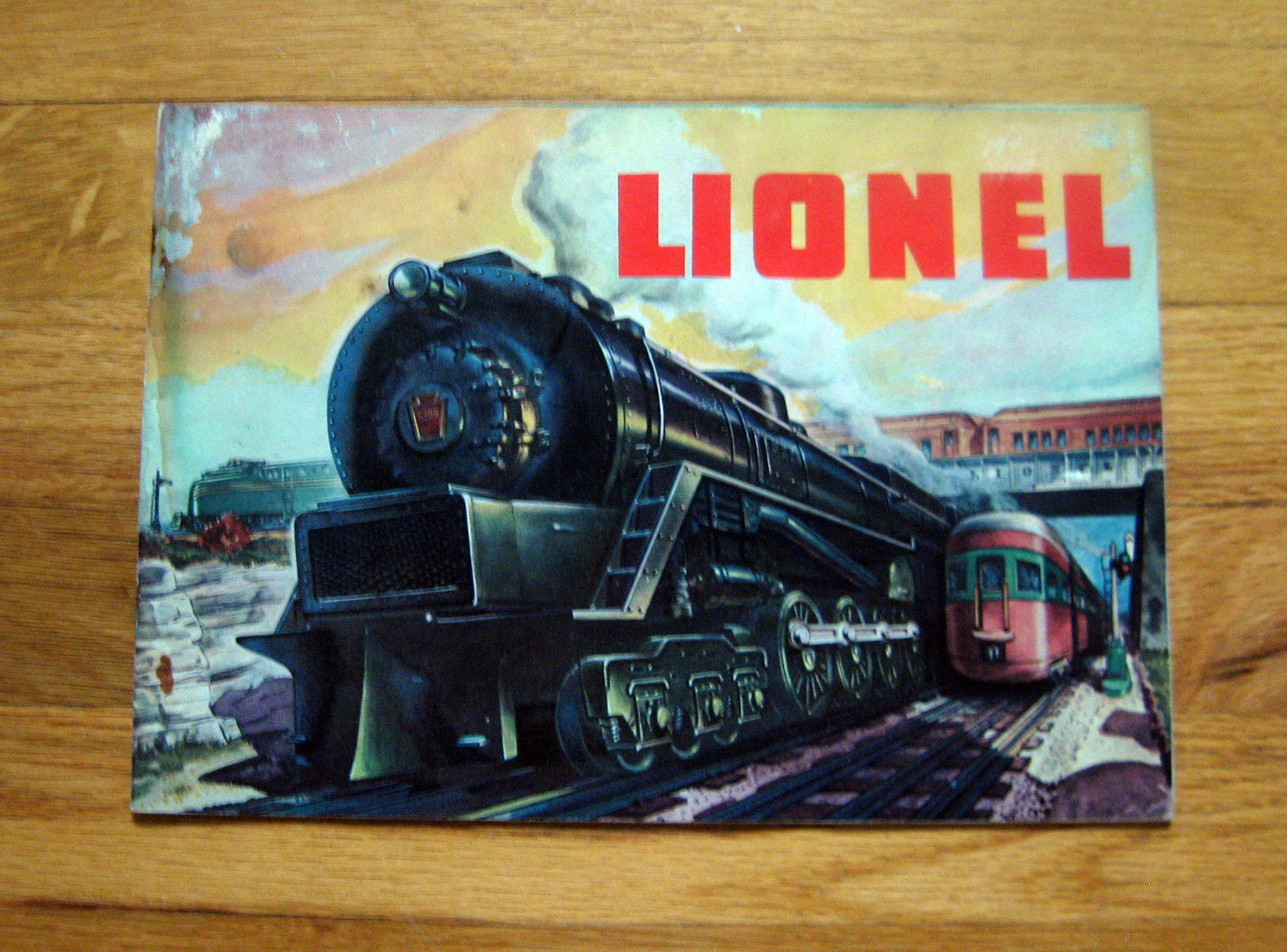 1948 Lionel Consumer Catalog Good Condition
