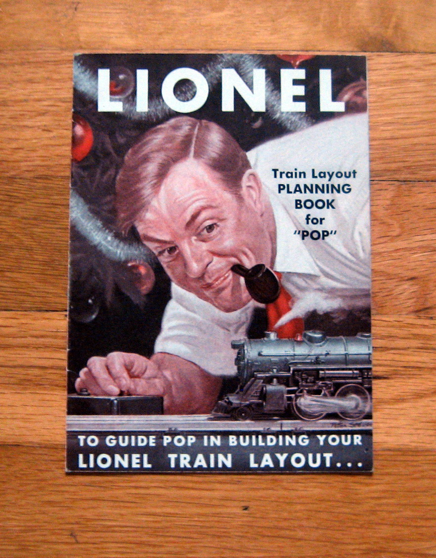 1949 Lionel Train Layout Planning Book For Pop Excellent Condition