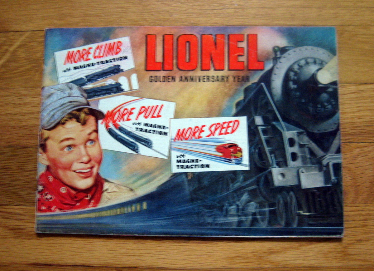 1950 Lionel Consumer Catalog Very Good Condition