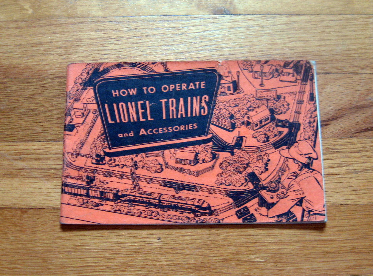 1953 Lionel How To Operate Trains Accessories Very Good Condition