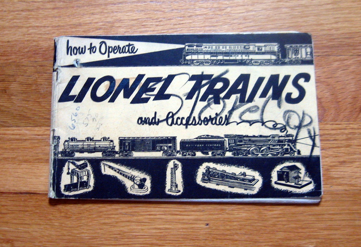 1953 Lionel How To Operate Trains Accessories Good Condition