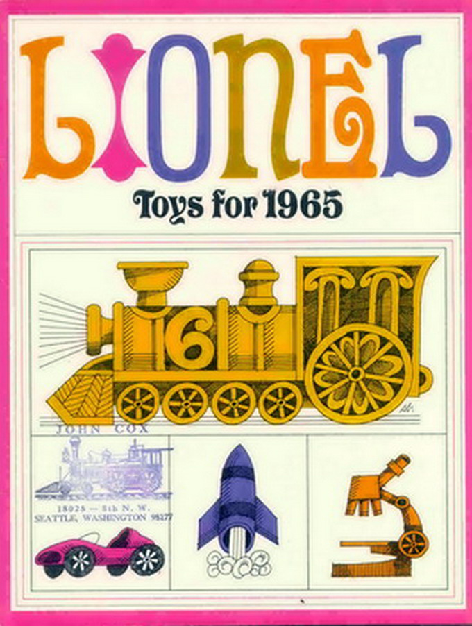 1965 Lionel Consumer 6401 Catalog. Mint Condition. Rubber Stamped