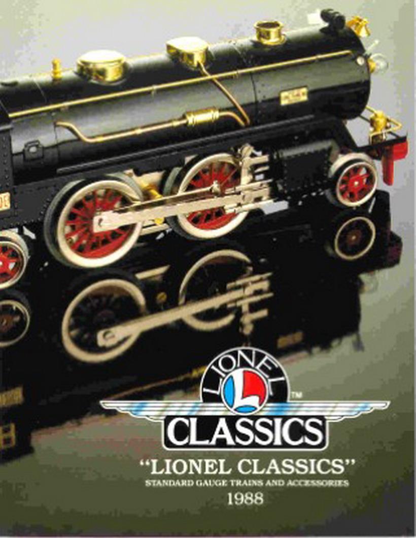 1985 LIONEL TRAINS TRADITIONAL CATALOG MINT