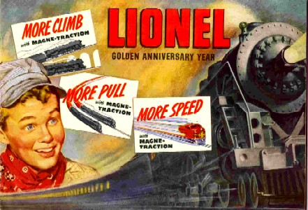 1950 Lionel Consumer Catalog (Original) Excellent Minus Condition