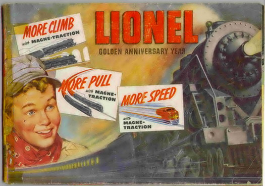 1950 Lionel Consumer Catalog Good Condition