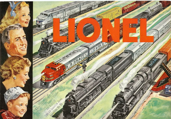 1951 Lionel Consumer Catalog Excellent Condition. Rubber Stamped.