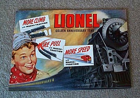 1950 Lionel Consumer Catalog (Original) Excellent Condition