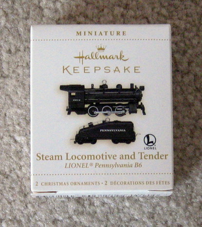 2006 Lionel Pennsylvania B6 Steam Loco and Tender Set. (QXM2096)